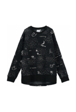 Beau Loves Beau Loves Galaxy Relaxed Fit Sweater