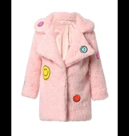 Baby Sara Baby Sara Faux Fur Coat