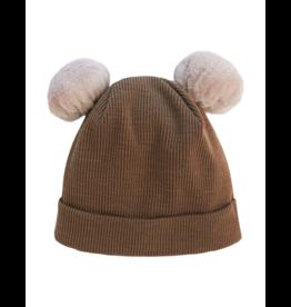 Kipp Kipp Fur Pom Pom Hat