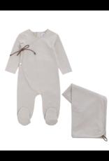 Kipp Kipp Cotton Wrap  Footie with Blanket