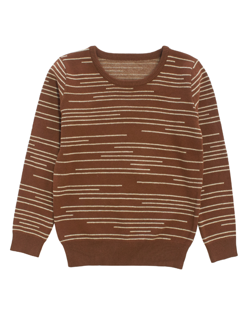 Klai Klai Staggered Stripe Sweater
