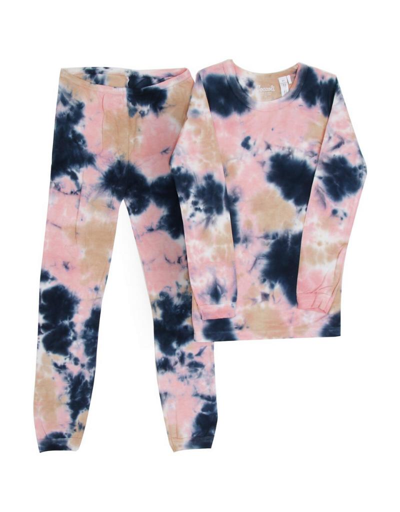 Coccoli Coccoli Tie Dye Pajama