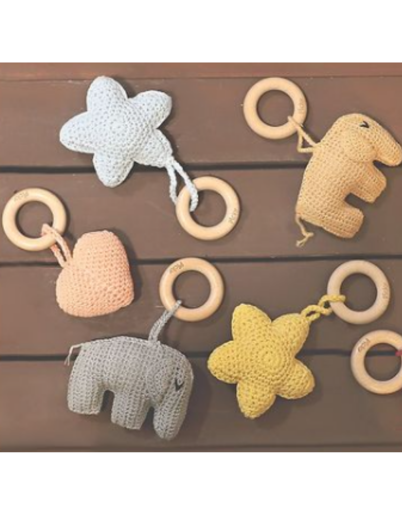 Picky Picky Baby Star Rattle Teether