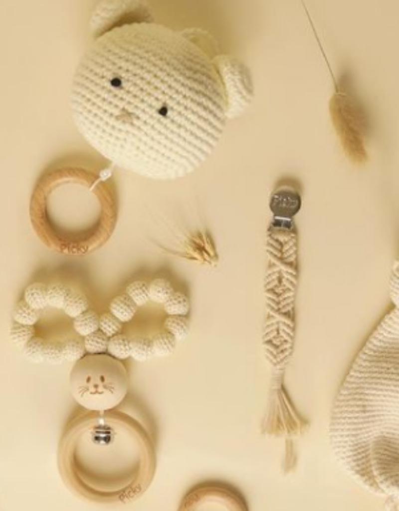 Picky Picky Baby Crochet Bunny Teether