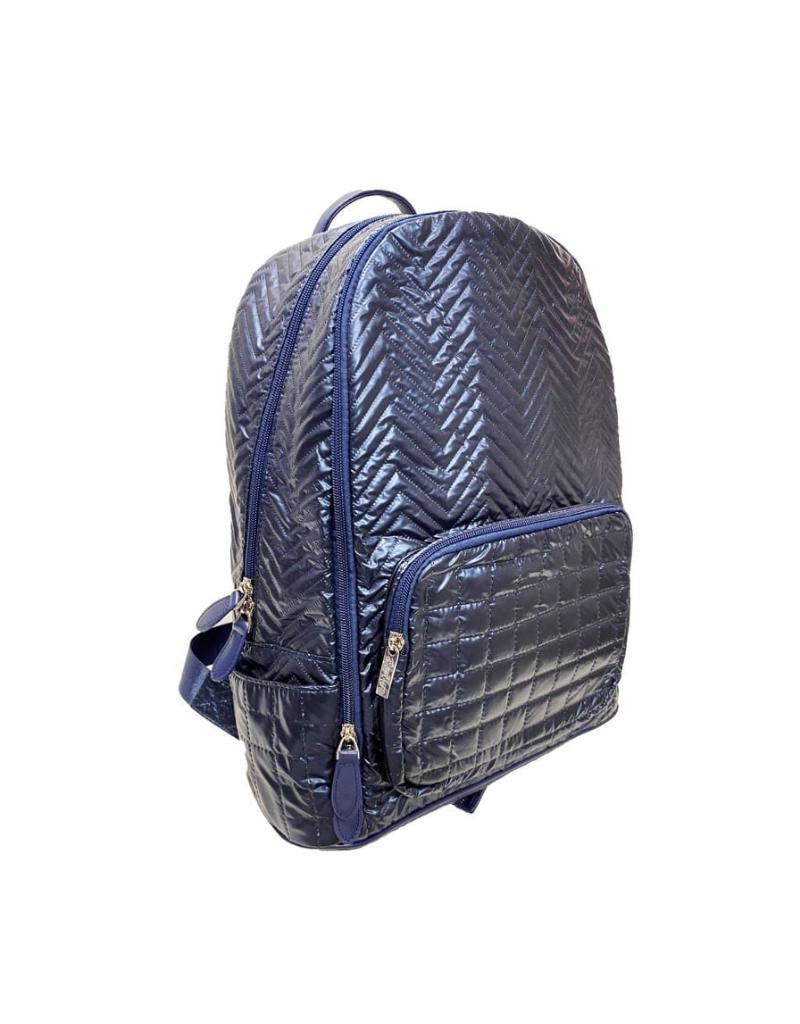 Bari Lynn Bari Lynn Chevron Backpack