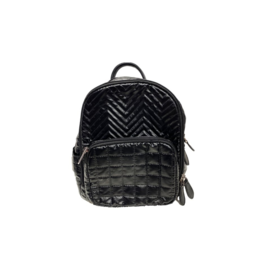 Bari Lynn Bari Lynn Chevron Mini Backpack