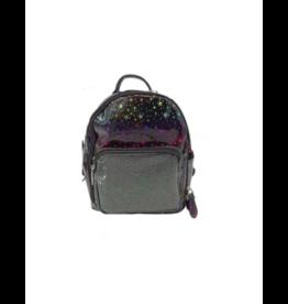 Bari Lynn Bari Lynn Metallic Star Mini Backpack
