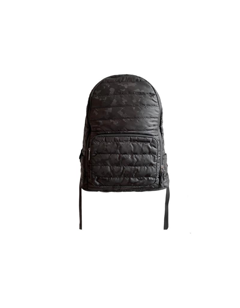 Bari Lynn Bari Lynn Tri Camo Puffy Mini Backpack