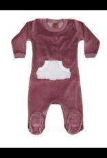Coton PomPom Coton Pompom Sherpa Kangaroo Pocket Footie
