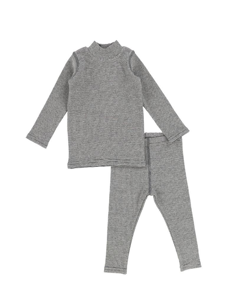 Lil legs Analogie  Infant Mini Stripe Stich Set