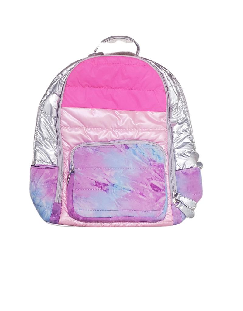 Bari Lynn Bari Lynn Puffy Tie Dye Backpack