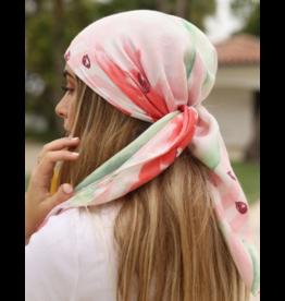 The Scarf Bar The Scarf Bar Pink Watermelon Headscarf