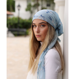 The Scarf Bar The Scarf Bar Daisy Mint Headscarf