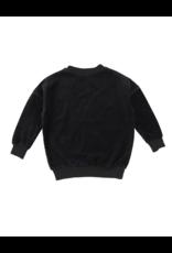 Analogie Analogie Velour Oversized Sweater
