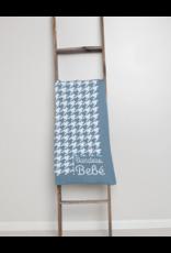 Bandeau Bandeau Bebe Houndstooth Chuncky Knit Blanket