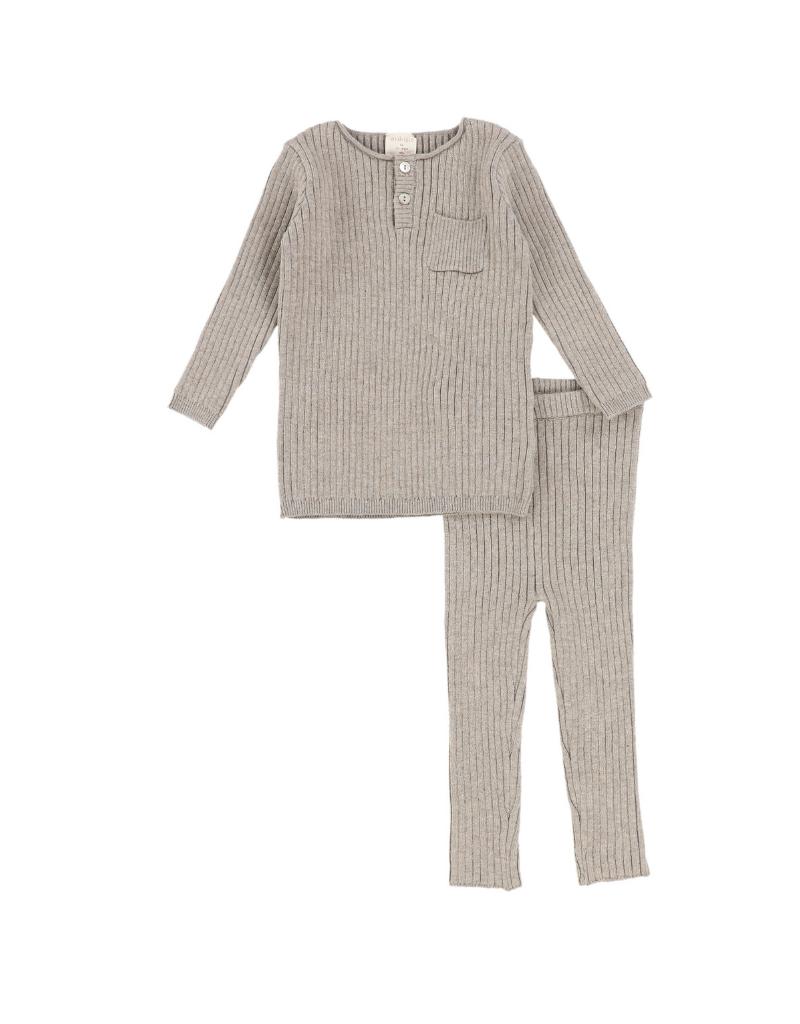 Lil legs Analogie  Infant Knit Pocket Set