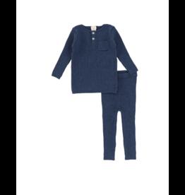 Lil legs Analogie  Speckle Knit Pocket Set