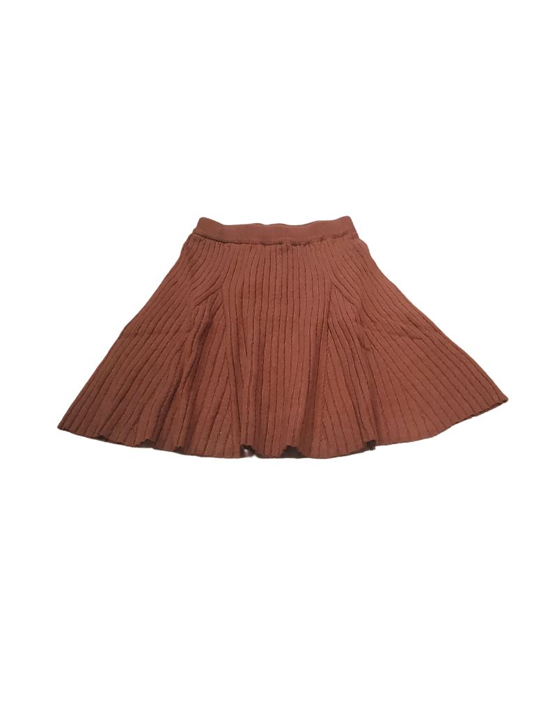 Fragile Fragile Girl Reverse Side of Cable Knit Flare Skirt