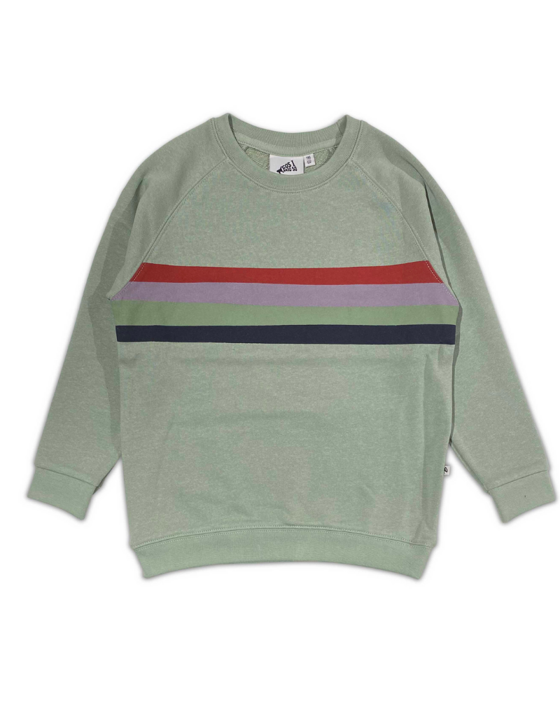Cos I Said So Cos I Said So Retro Stripe Sweatshirt