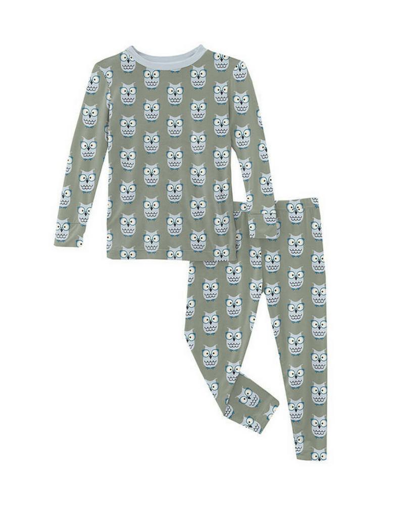 Kickee Pants Kickee Pants Wise Owls Pajama