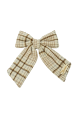 Bandeau Bandeau Wool Large Bow Hair Clip