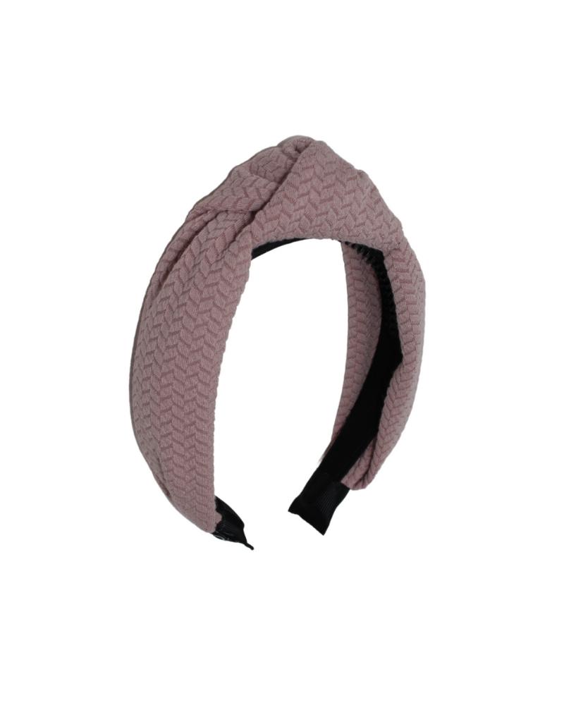 Bandeau Bandeau Solid Herringbone Knot Headband