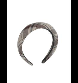 Bandeau Bandeau Casual Plaid Padded Headband
