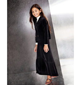 Parni Parni Velour Maxi Skirt