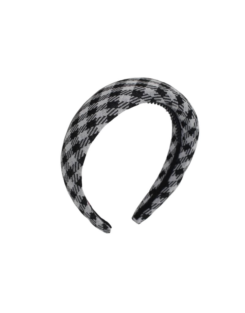 Bandeau Bandeau Winter Gingham Padded Headband