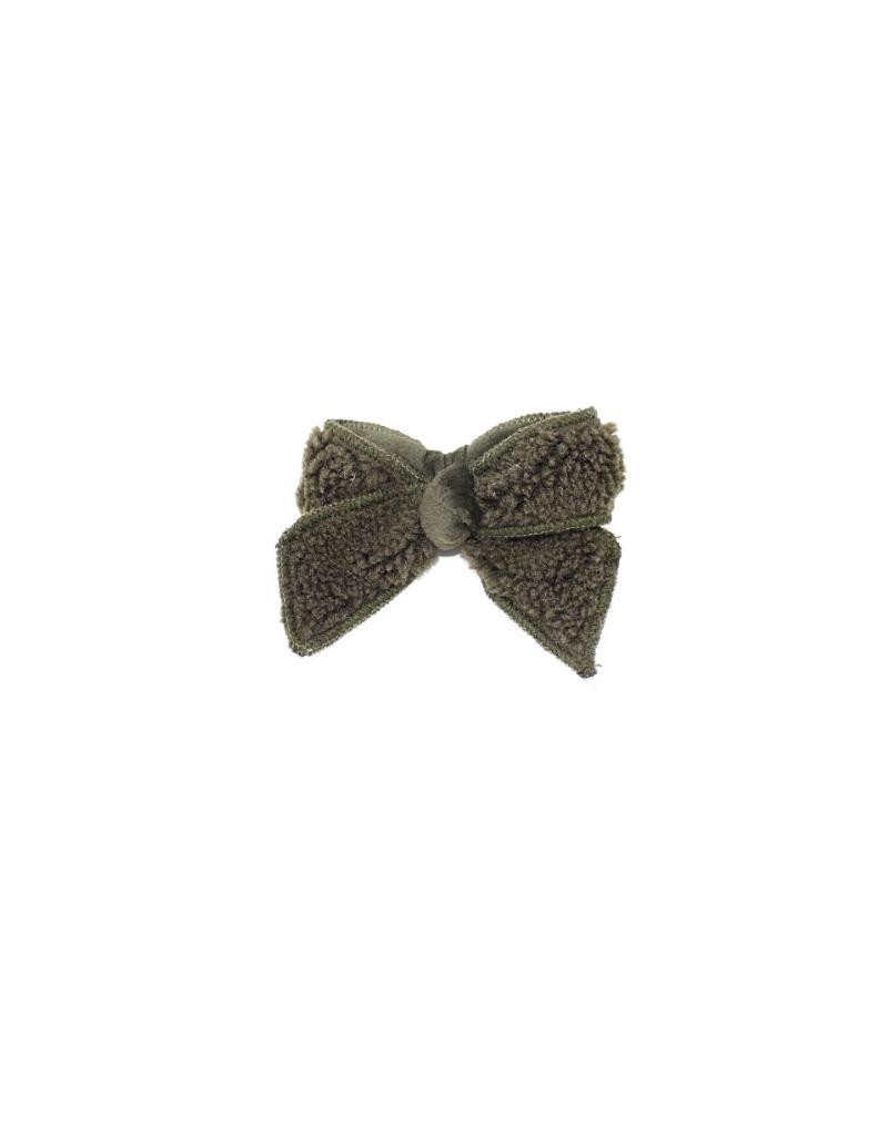 Bandeau Bandeau Sherpa Velvet Small Hair Clip