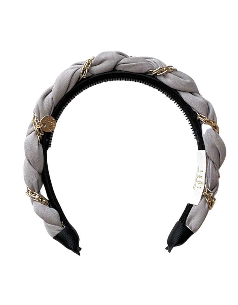 Halo Luxe Halo Luxe Evelyn Twisted Link Headband
