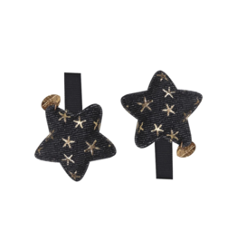 Halo Luxe Halo Luxe Starstruck Puffer Star Double Clip