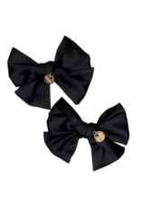 Halo Luxe Halo Luxe Serenity Silk Bow Double Clip