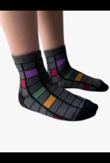 bling Blinq Colored Cube Socks -544