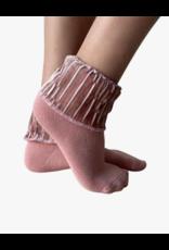 bling Blinq Glitter Velvet Anklets -542