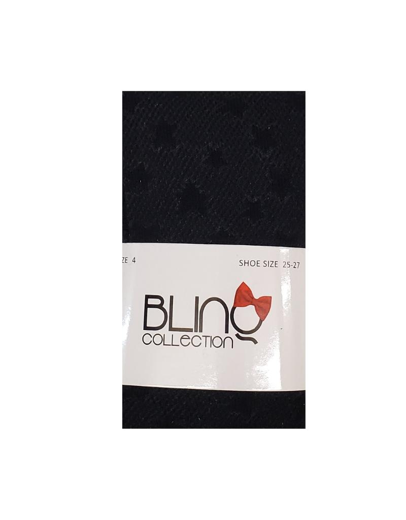 bling Blinq Embossed Stars Tighs -536