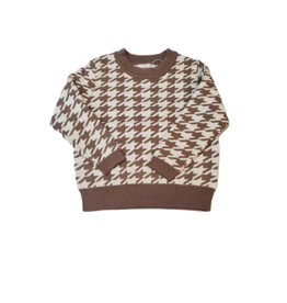 Sweet Threads Sweet Threads Houndstooth Sweater