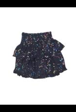 flowers by zoe Flower By Zoe Girl Black Splatter Skirt