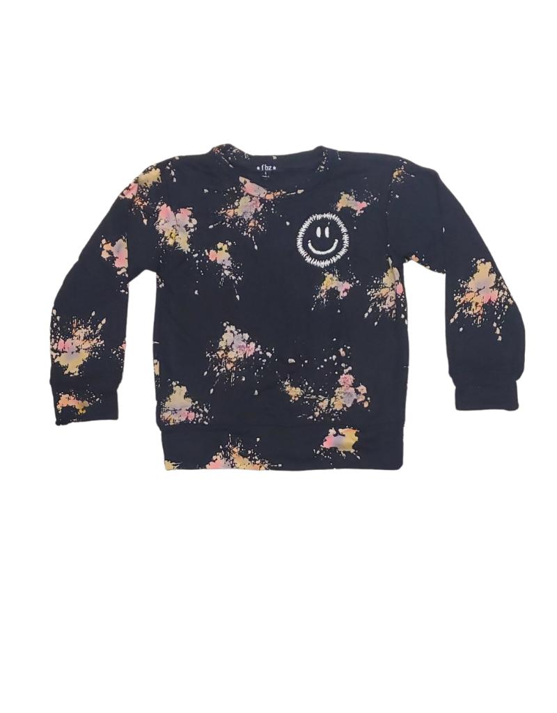 flowers by zoe Flower By Zoe Girl  Color   Spray Sweatshirt