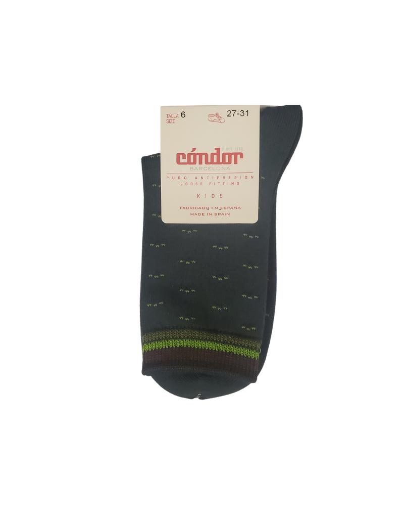 Condor Condor Geometric Print Socks-3909/4