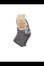 Condor Condor Non-Skid Terry Socks with Purl Cuff-2250/4