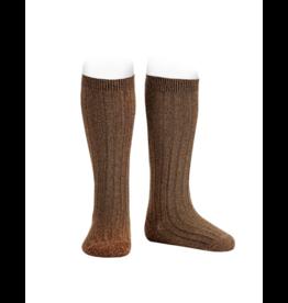 Condor Condor Lurex Ribbed Knee Sock-3220/2