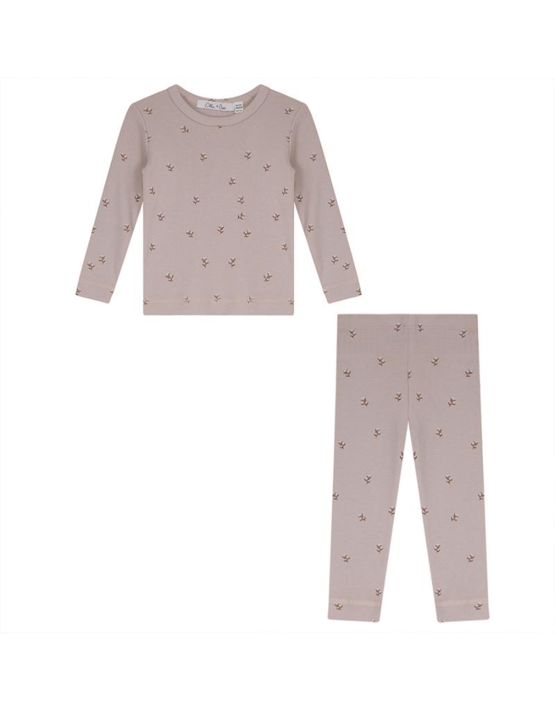 Elle & Boo Elle & Boo Printed Pajama