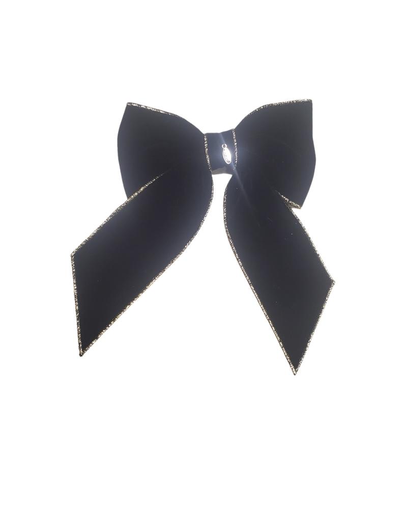 DaCee Dacee Velvet Stitching Large Clip