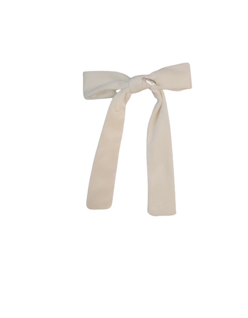DaCee Dacee Velvet Bow Medium Clip