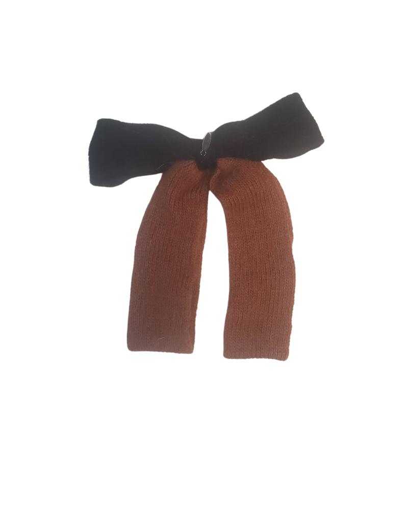 DaCee Dacee  Mohair Bow Medium Clip