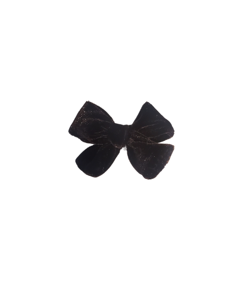 DaCee Dacee Metallic Velvet Bow Small