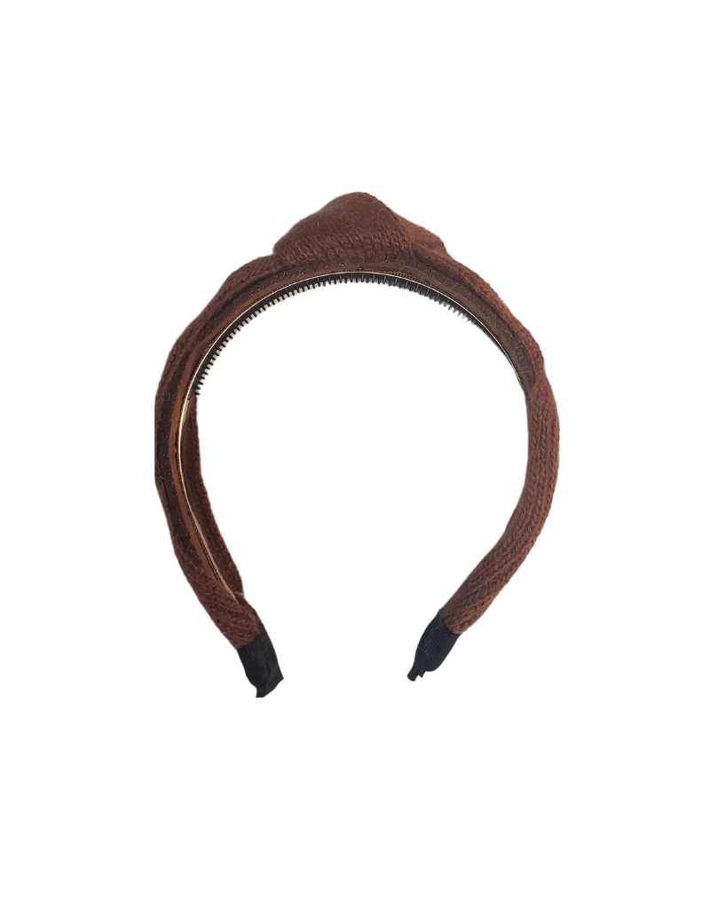 DaCee Dacee Mohair Knot Headband