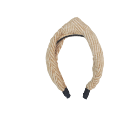 DaCee Dacee Hairy Mohair Bow Headband