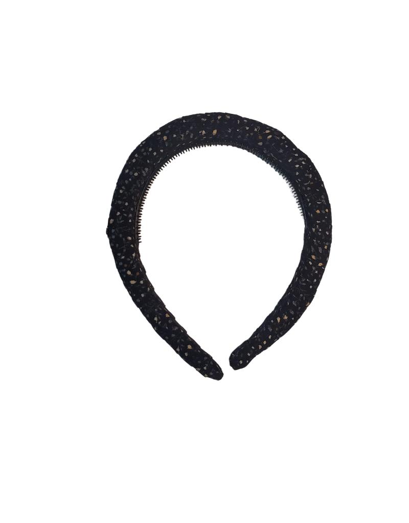 Halo Luxe Halo Luxe Elsie Printed Corduroy Headband